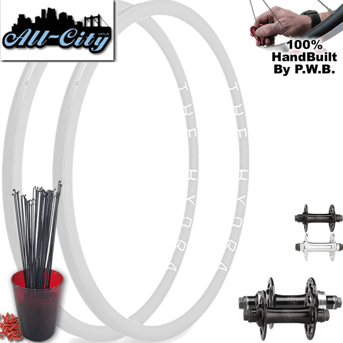 ALL CITY TRACK   SINGLE SPEED WHEEL SET PACKAGE