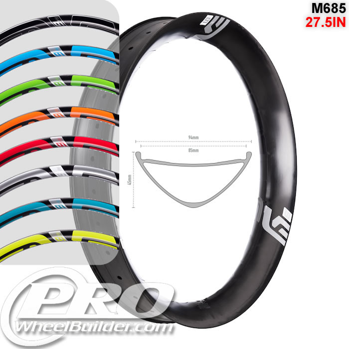 ENVE COMPOSITES M685 27.5IN 650B DISC BRAKE RIM