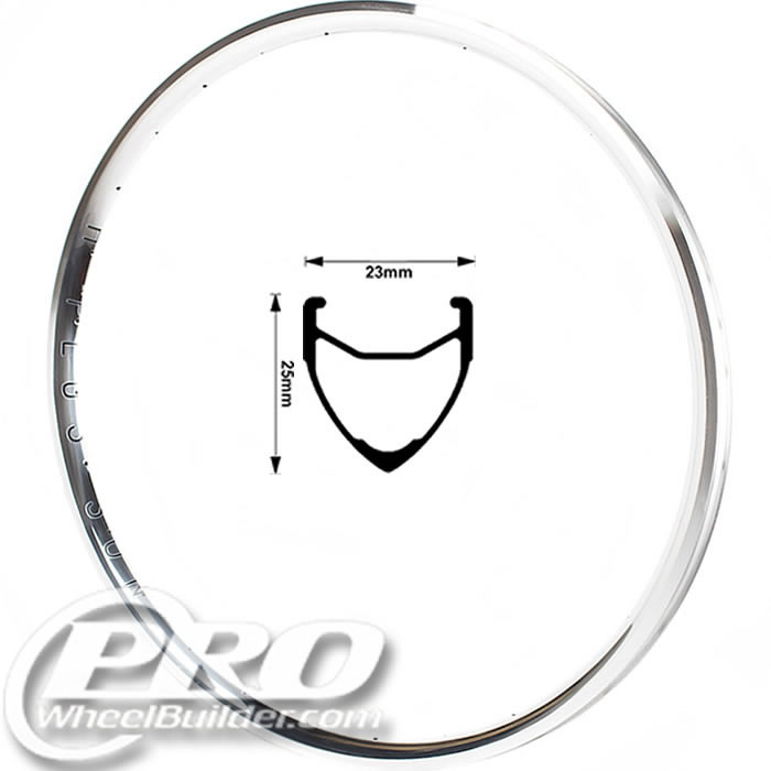 H PLUS SON ARCHETYPE POLISHED 700C RIM