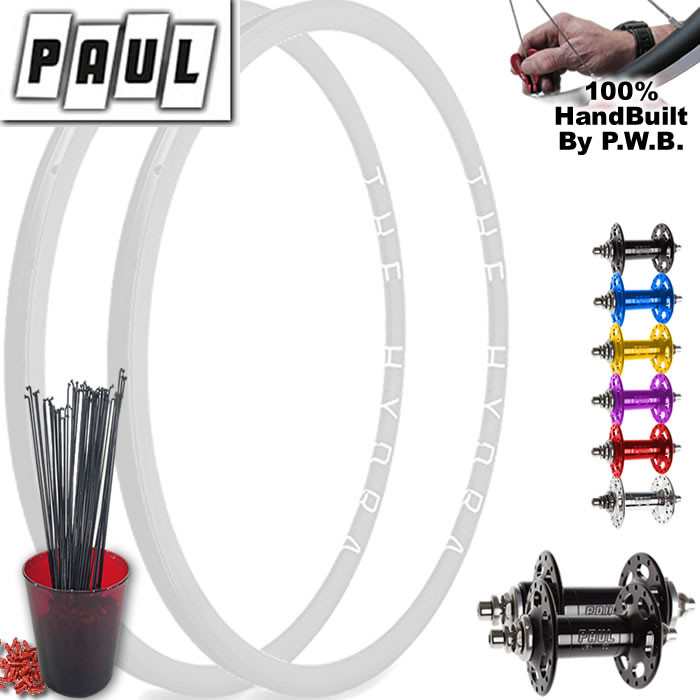 PAUL COMPONENTS TRACK   SINGLE SPEED WHEEL SET PACKAGE