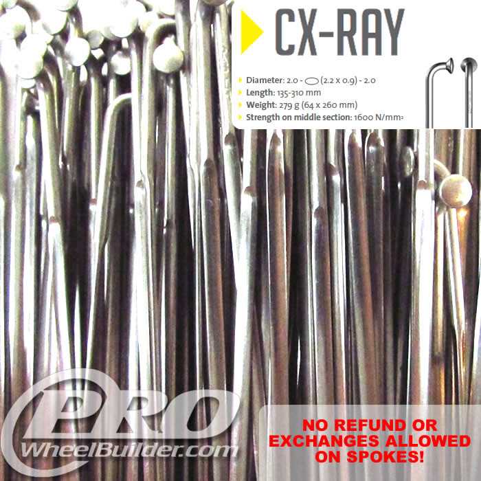 SAPIM CX RAY J BEND SILVER BLADED14|21|14G OR 2.2|0.9MM SPOKES