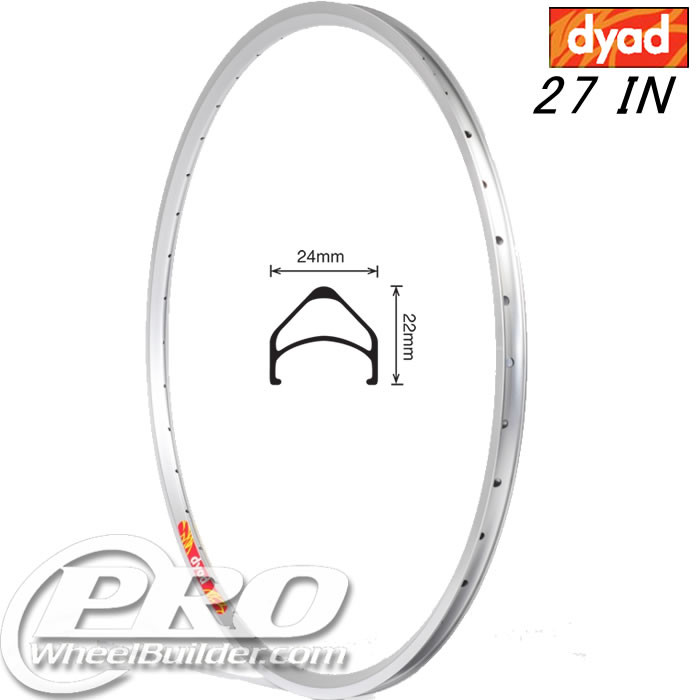 VELOCITY DYAD NMSW 27IN SILVER RIM