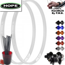 HOPE MOUNTAIN BIKE SINGLE SPEED WHEEL SET PACKAGE