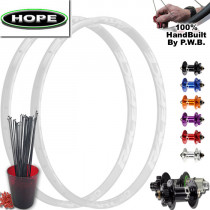 HOPE MOUNTAIN BIKE WHEEL SET PACKAGE