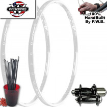 WHITE INDUSTRIES TOURING CLYDESDALE WHEEL SET PACKAGE
