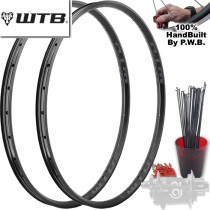 WTB MOUNTAIN BIKE SINGLE SPEED WHEEL SET PACKAGE