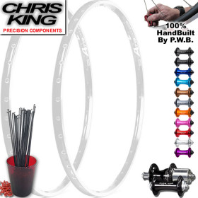 CHRIS KING TOURING CLYDESDALE WHEEL SET PACKAGE