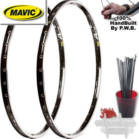 MAVIC TOURING CLYDESDALE WHEEL SET PACKAGE