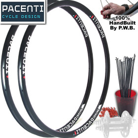 PACENTI TRACK   SINGLE SPEED WHEEL SET PACKAGE