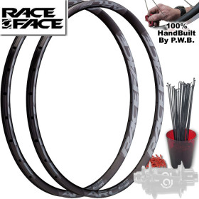 RACE FACE MOUNTAIN BIKE SINGLE SPEED WHEEL SET PACKAGE