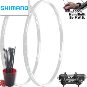 SHIMANO TOURING CLYDESDALE WHEEL SET PACKAGE