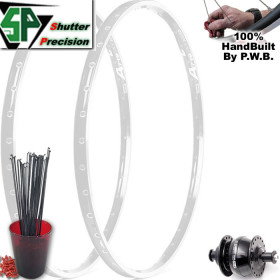 SHUTTER PRECISION TOURING CLYDESDALE WHEEL SET PACKAGE