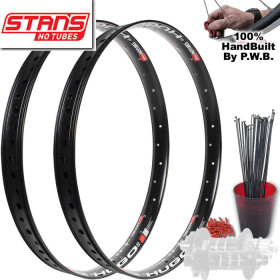 STANS NO TUBES FAT TIRE PLUS WHEEL SET PACKAGE
