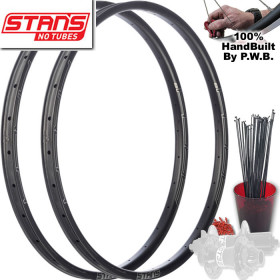 STANS NO TUBES MOUNTAIN BIKE WHEEL SET PACKAGE