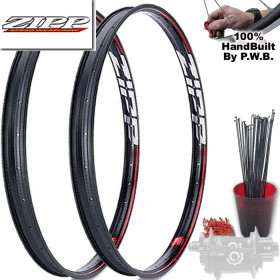 ZIPP MOUNTAIN BIKE SINGLE SPEED WHEEL SET PACKAGE