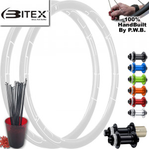 BITEX ROAD DISC WHEEL SET PACKAGE