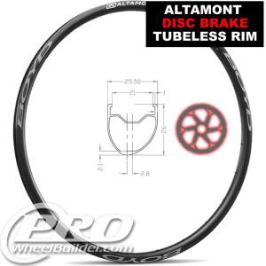 BOYD ALTAMONT DISC CLINCHER TUBELESS 700C RIM