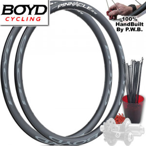 BOYD CYCLING ROAD DISC WHEEL SET PACKAGE