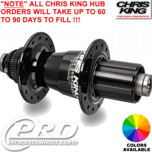 CHRIS KING MTB REAR MTB CENTERLOCK DISC HUB