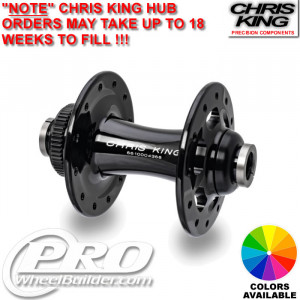 CHRIS KING R45 FRONT CENTERLOCK DISC HUB