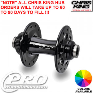 CHRIS KING R45 FRONT CENTERLOCK DISC HUB