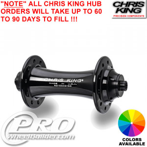 CHRIS KING R45 FRONT HUB