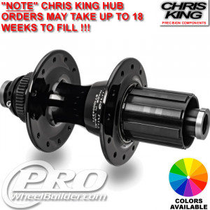 CHRIS KING R45 REAR CENTERLOCK DISC HUB