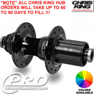 CHRIS KING R45 REAR CENTERLOCK DISC HUB