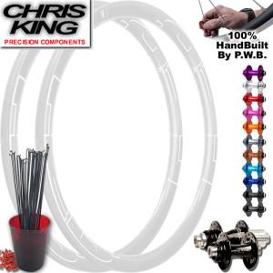 CHRIS KING ROAD DISC WHEEL SET PACKAGE