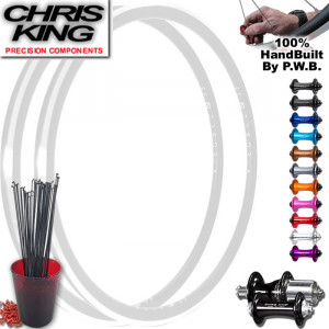 CHRIS KING ROAD WHEEL SET PACKAGE