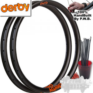 DERBY FAT PLUS WHEEL SET PACKAGE