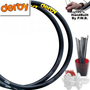 DERBY ROAD DISC WHEEL SET PACKAGE