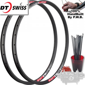 DT SWISS MOUNTAIN BIKE WHEEL SINGLE SPEED SET PACKAGE