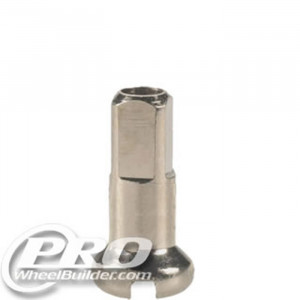 DT SWISS SILVER BRASS 14G 12MM NIPPLE