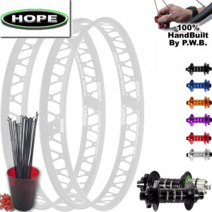 HOPE FAT TIRE PLUS WHEEL SET PACKAGE