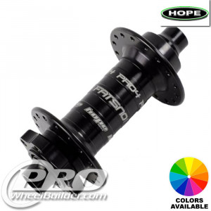 HOPE PRO 4 FAT SNO FRONT ISO 6 BOLT DISC HUB
