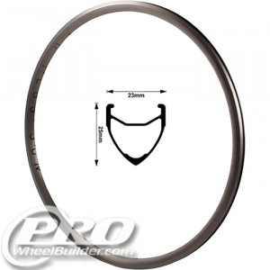 H PLUS SON ARCHETYPE GREY 700C RIM