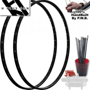 H PLUS SON TOURING CLYDESDALE WHEEL SET PACKAGE
