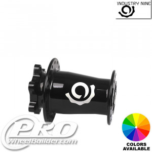 INDUSTRY 9 HYDRA LEFTY FRONT ISO 6 BOLT DISC HUB