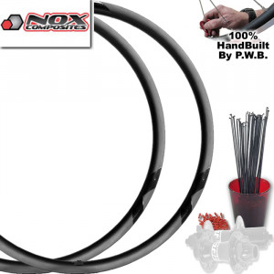 NOX COMPOSITES MOUNTAIN BIKE WHEEL SET PACKAGE
