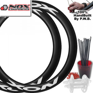 NOX COMPOSITES TRACK | SINGLE SPEED WHEEL SET PACKAGE