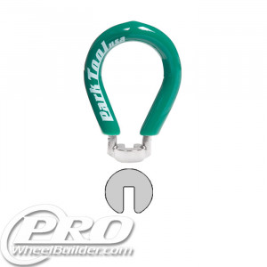 PARK SW-1 GREEN .130 STANDARD SPOKE WRENCH