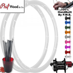 PHIL WOOD ROAD DISC WHEEL SET PACKAGE