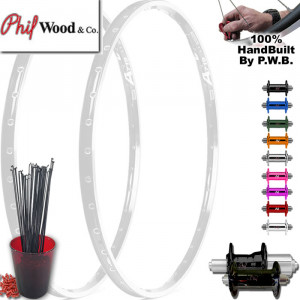 PHIL WOOD TOURING CLYDESDALE WHEEL SET PACKAGE
