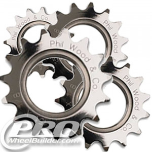 PHIL WOOD TRACK COGS