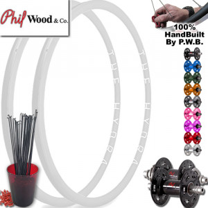 PHIL WOOD TRACK | SINGLE SPEED WHEEL SET PACKAGE