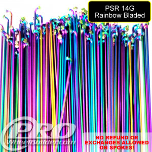 PILLAR PSR J BEND RAINBOW  14G OR 2.0MM SPOKESSPOKES