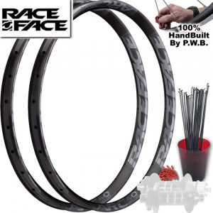 RACE FACE FAT TIRE PLUS WHEEL SET PACKAGE