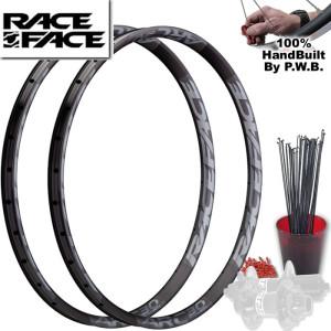 RACE FACE MOUNTAIN BIKE WHEEL SET PACKAGE