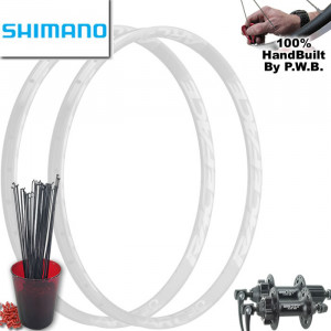 SHIMANO MOUNTAIN BIKE WHEEL SET PACKAGE
